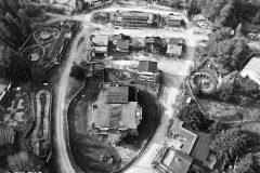 Verlassener Freizeitpark Fränkisches Wunderland Plech Luftbild mit Drohne