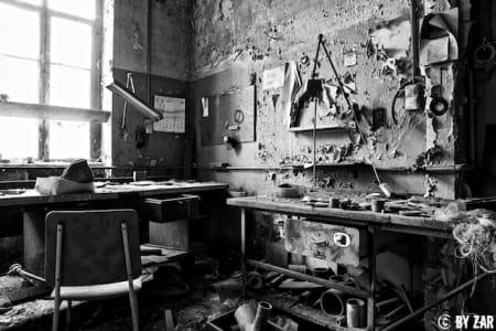 Lost Places Farbchemie Quedlinburg
