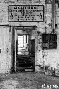 Lost Places Harz RAW Reichsbahn Bahnbetriebswerk Sangerhausen