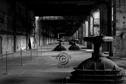 Kraftwerk Vockerode, Maschinenhaus