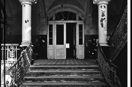 LOST PLACES Schönheit des Verfalls Bildbände in schwarz weiss