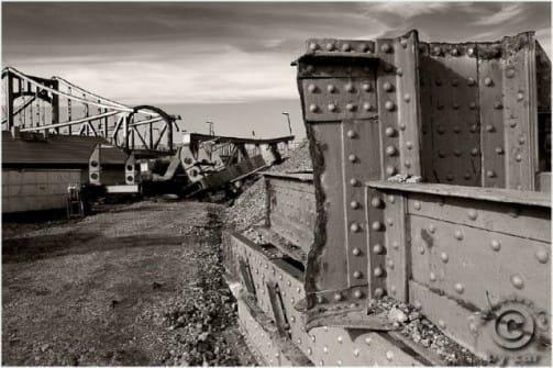 Abriss Berliner Brücke Halle Saale