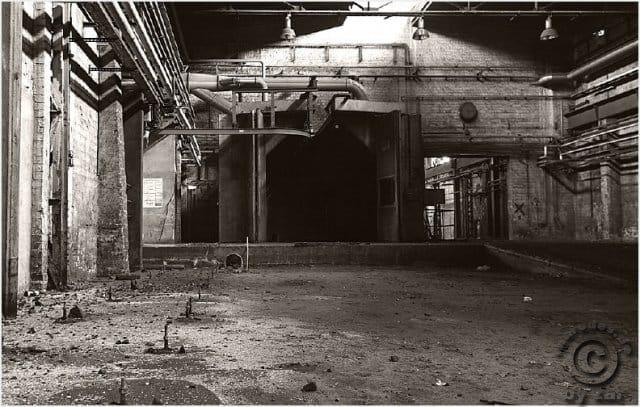 Alte Gießerei VEB Kombinat Pumpen und Verdichter Halle - Lost Places