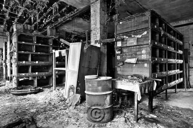 Lost Places Leipzig Kugellagerfabrik Wälzlager