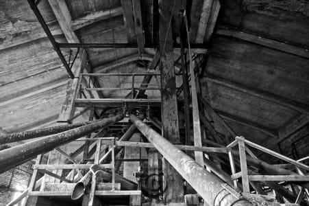 Verfallene Mühle in Leipzig - Kunstmühle Zickmantel Lost Places Leipzig
