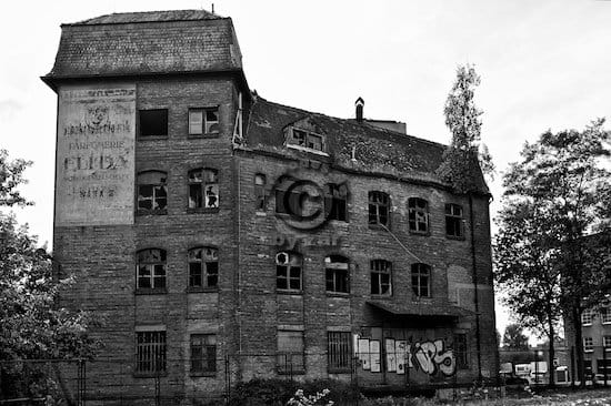 Urbex Schokoladenfabrik Goldeck Leipzig Lost Places