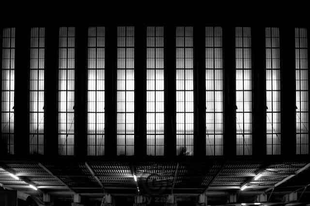 Lost Place Flughafen Tempelhof in Berlin.