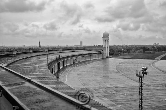 Flughafen Tempelhof in Berlin
