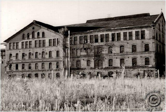 Zuckerfabrik Halle 1997 analog