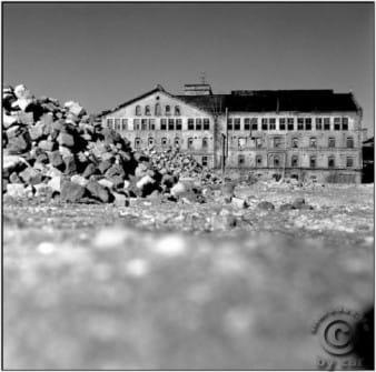 Zuckerfabrik Halle 2003 Mittelformat