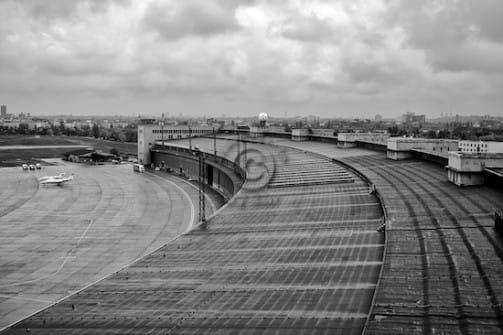 Flughafen Tempelhof Berlin jetzt Lost Place