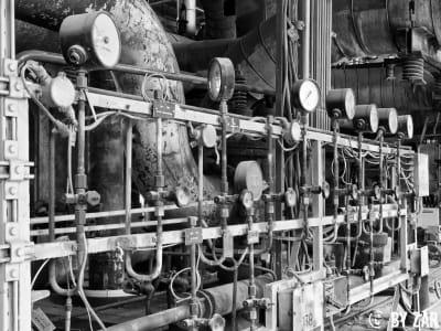 Urben Exploration Sachsen Kraftwerk Thierbach