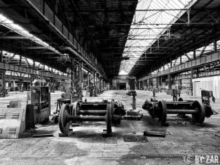 Urbex Sachsen Reichsbahnausbesserungswerk Zwickau