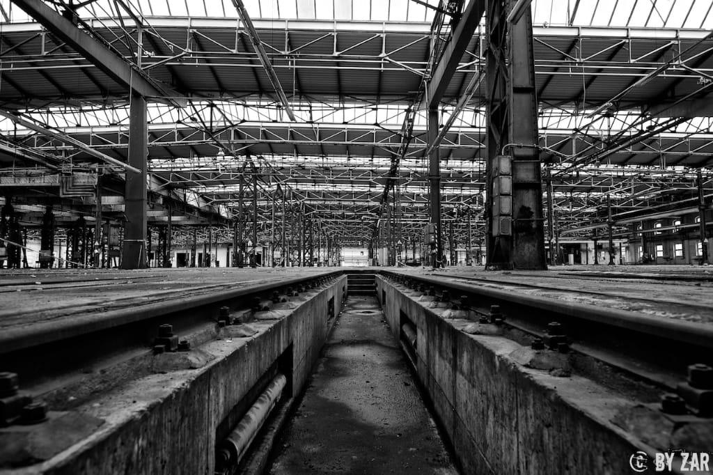 RAW Zwickau Reichsbahnausbesserungswerk 7. Oktober