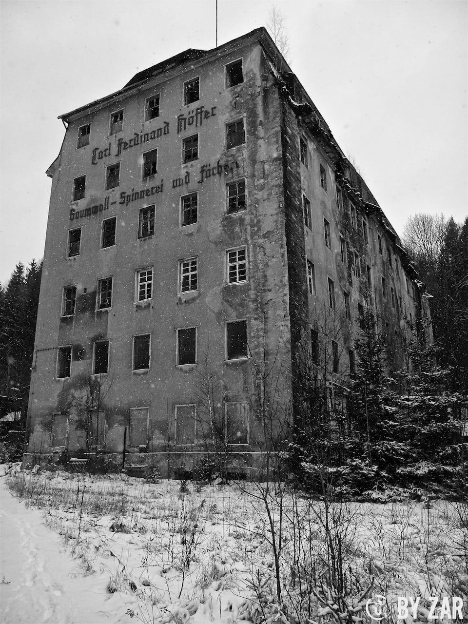 Alte Spinnerei Lost Places Thüringen Urbex
