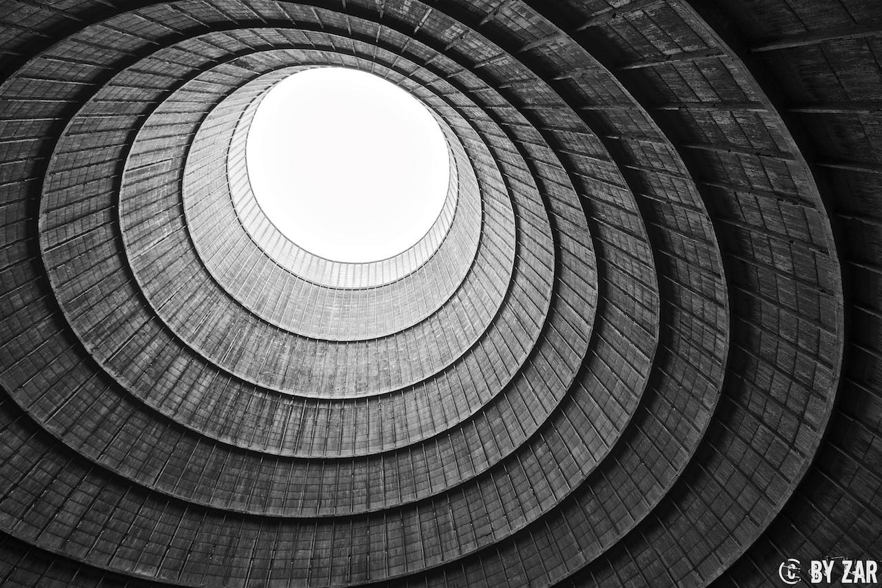 Belgium - Cooling Tower - Kühlturm in Belgien