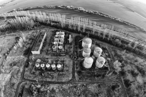 Addinol Mineralöwerke - Lost Places aus der Luft