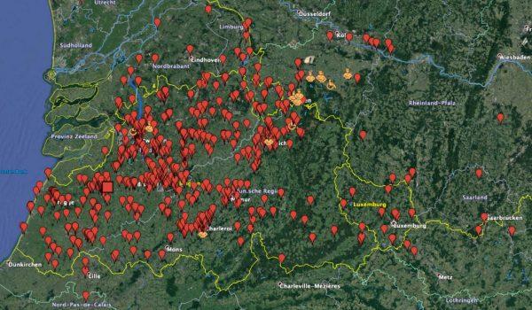 Google Koordinaten für Lost Places