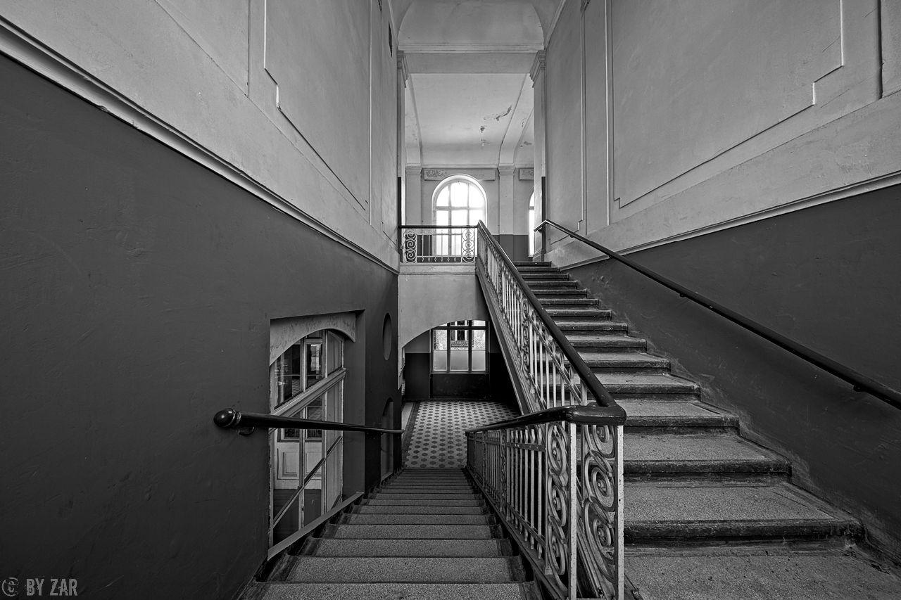 Beelitz Heilstätten - Badehaus - Treppenhaus