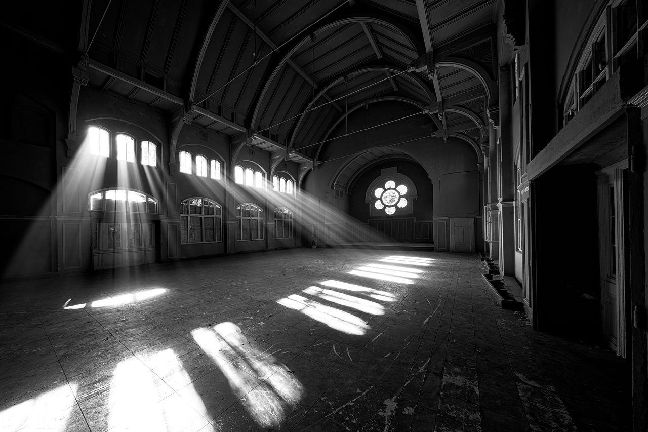 Lost Place Beelitz Heilstätten - Männersanatorium, Saal