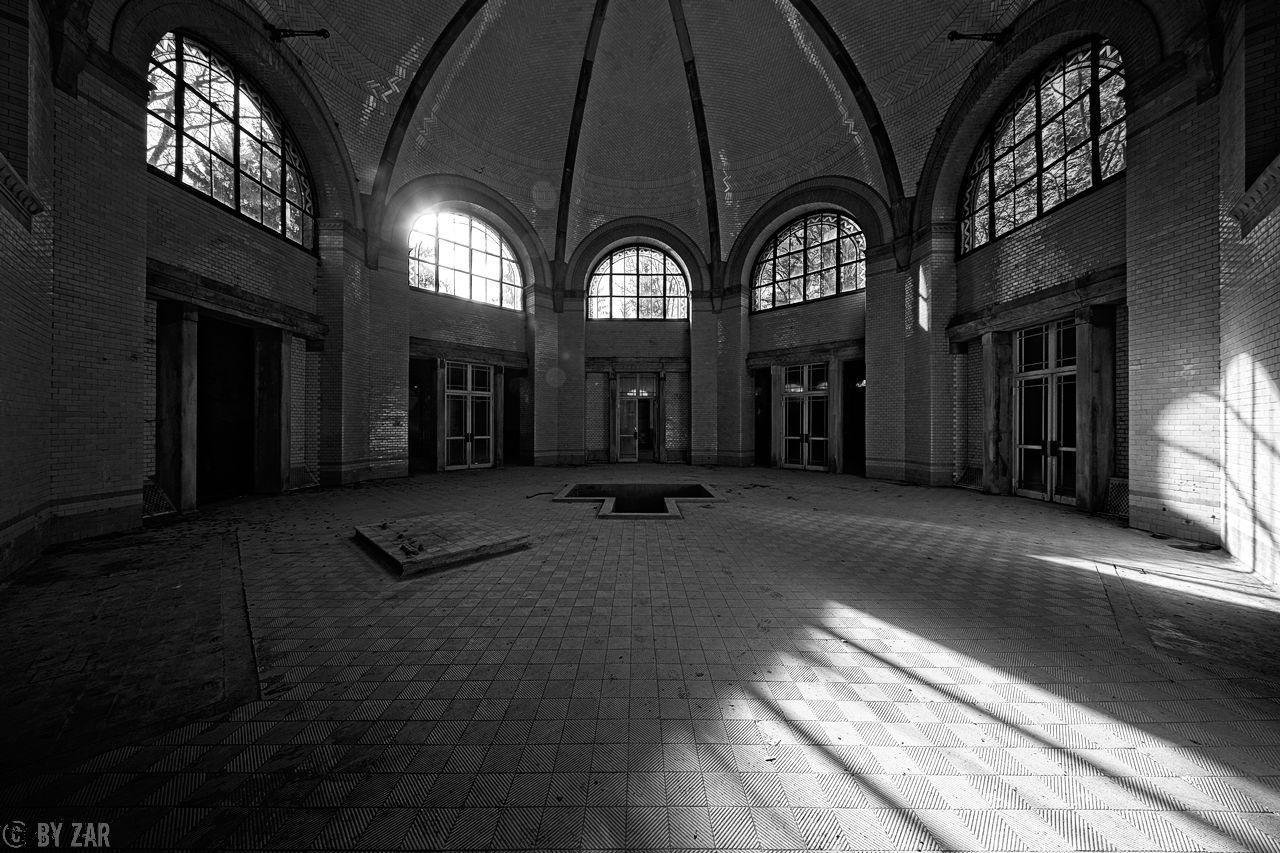 Beelitz Heilstätten - Badehaus - Zentralbad