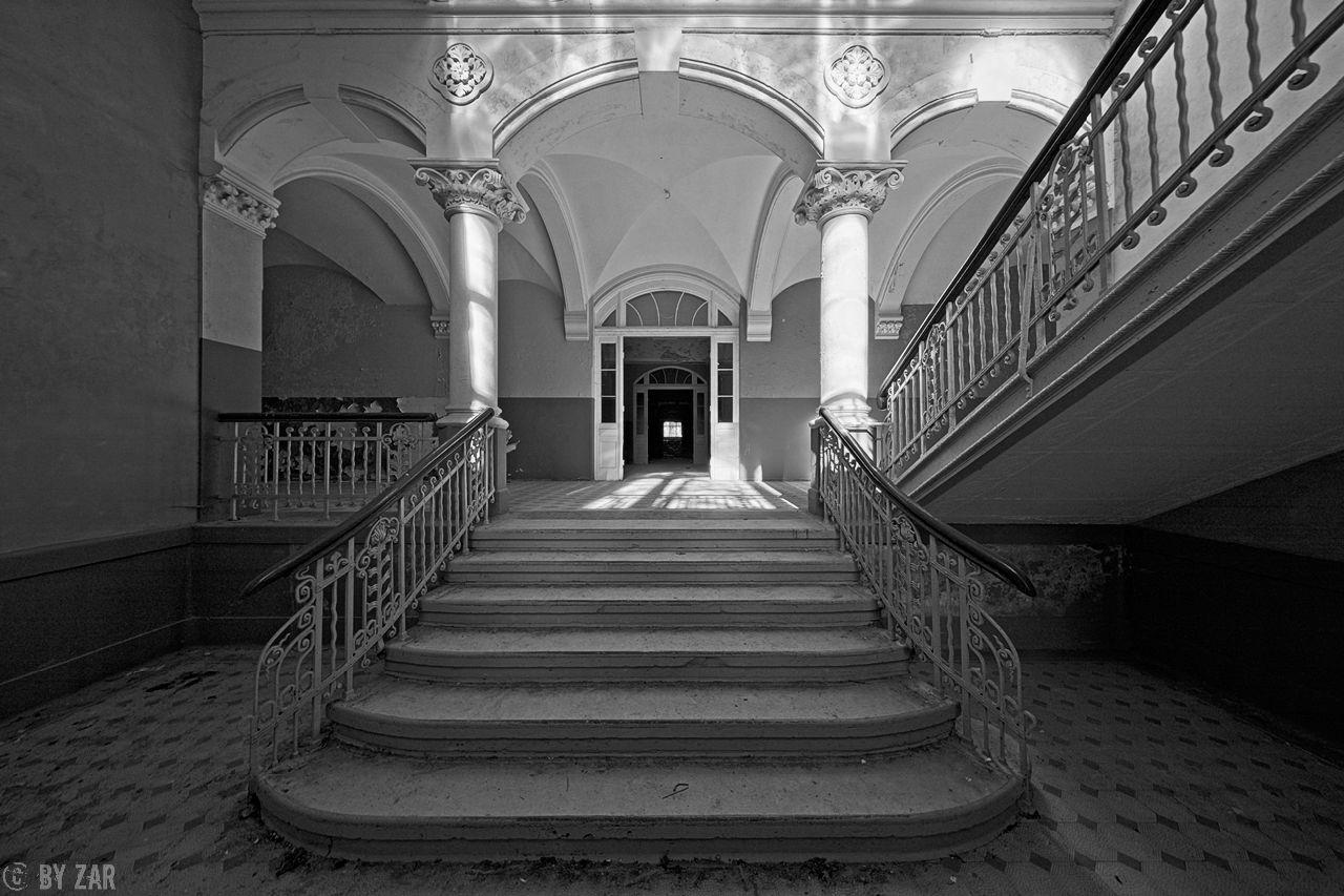 Beelitz Heilstätten - Männersanatorium, Portal