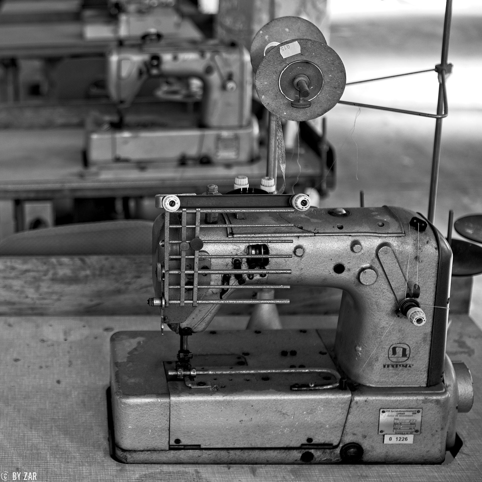 Urbex alte Textilfabrik in Limbach-Oberfrohna, Sachsen