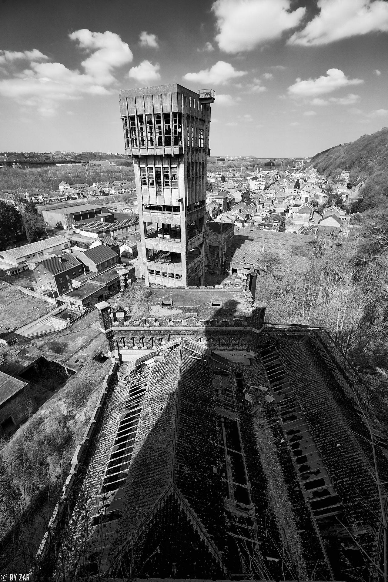 Urbex Bergwerk Hasard Cheratte Lüttich, Belgien
