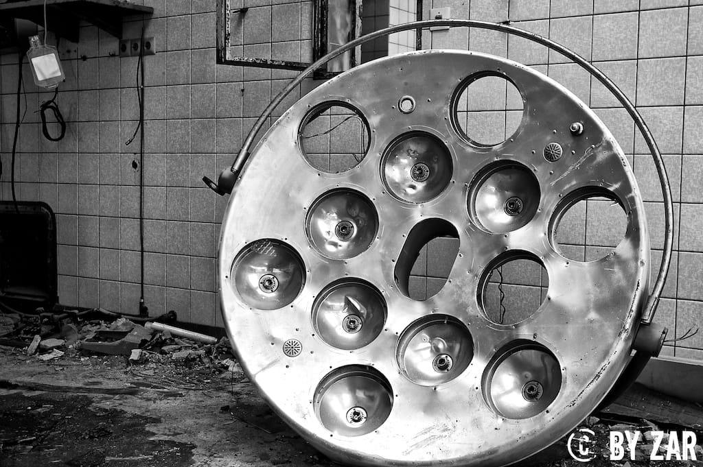 Beelitz Heilstätten Part II Operationssaal – Chirurgie