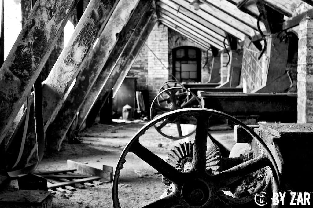 Verfallene Mühle Leipzig - Lost Places Leipzig - Urban Exploration Sachsen Mühle