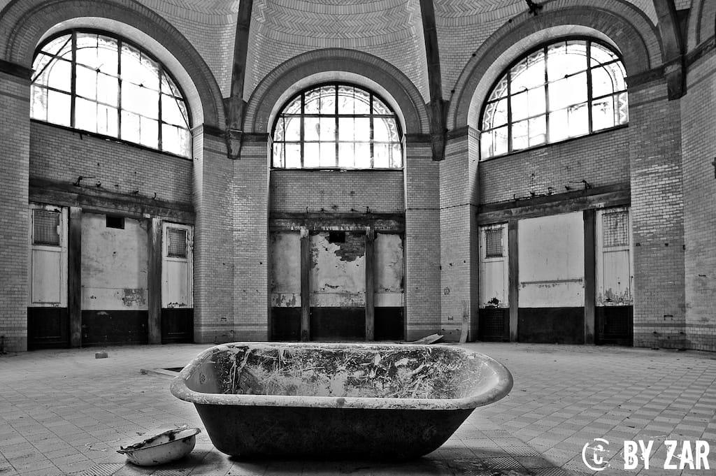 Geocaching Beelitz Heilstätten