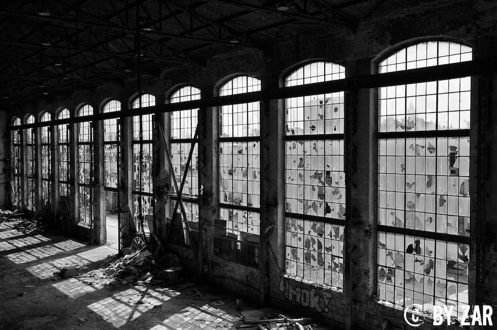 Adolf Bleichert Werke Lost Places Leipzig - Urbex