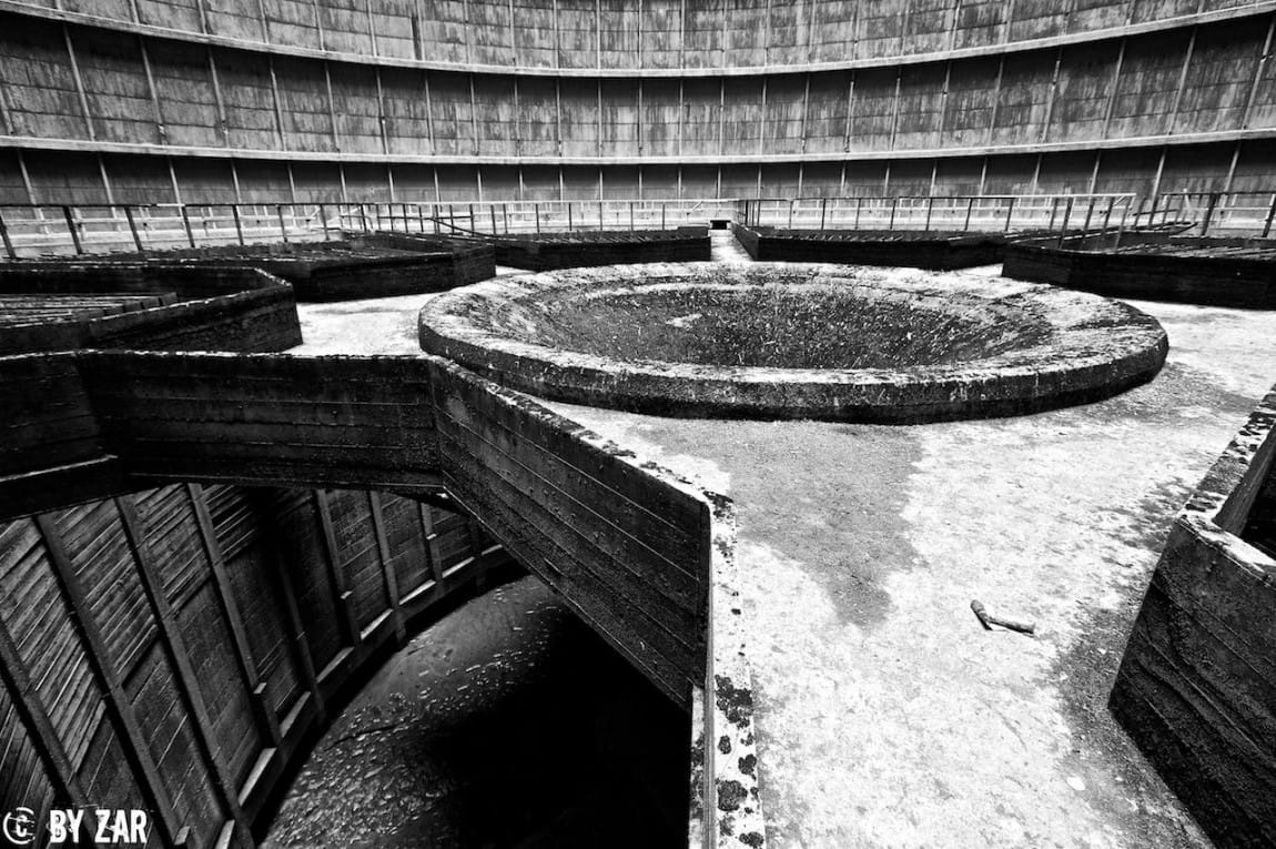 Urban Exploration Belgium – Cooling Tower