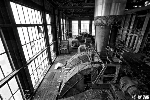 Urbex Kraftwerk in Belgien