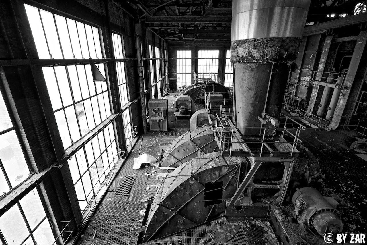 Urbex Kraftwerk in Belgien Lost Places