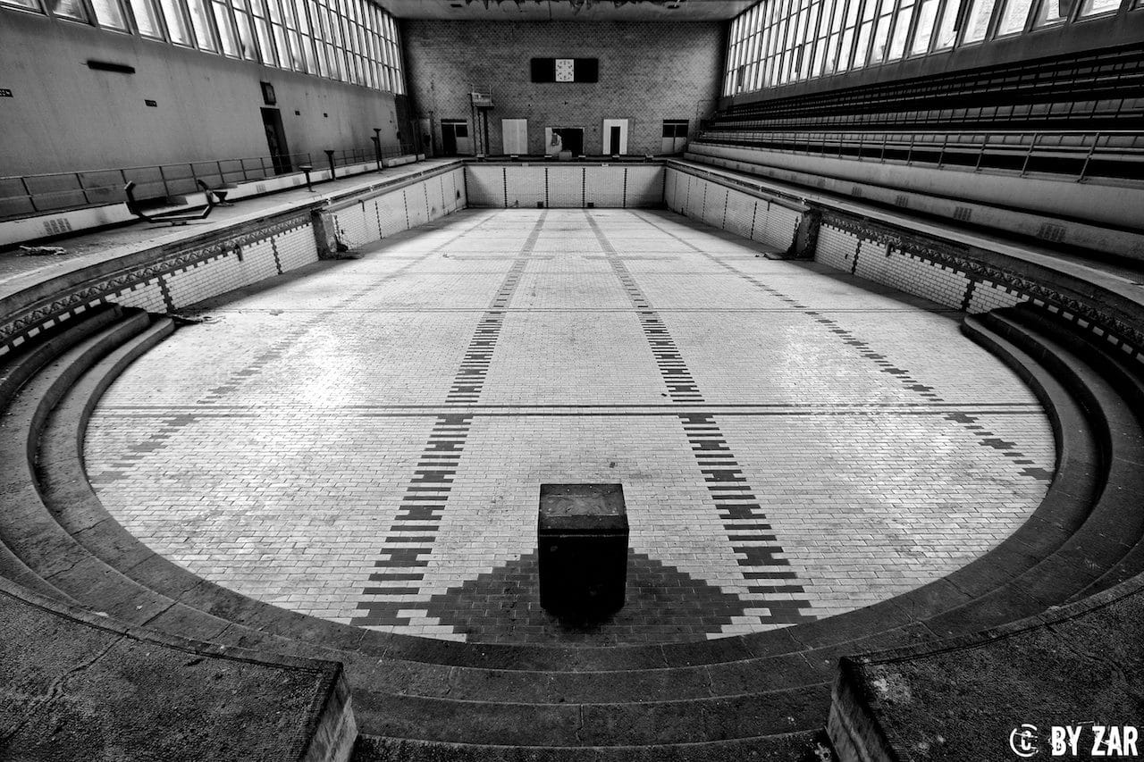 Lost Place Schwimmbad in Belgien